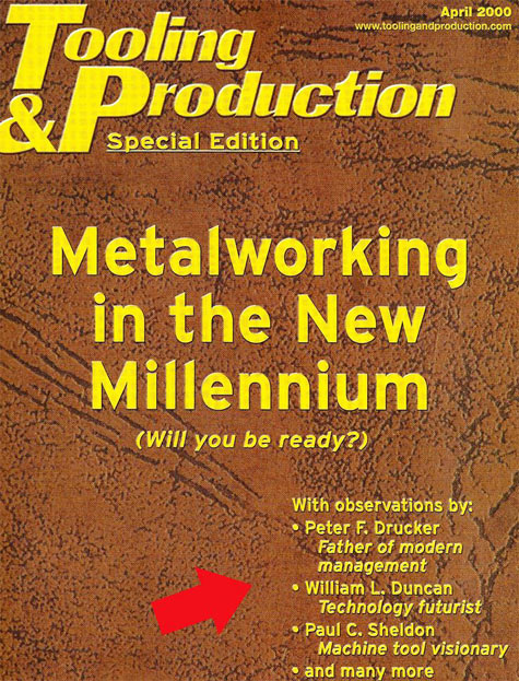 Article in Metalworking in the New Millennium
