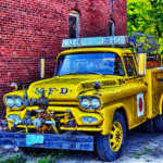 Retired Rescue Squad Truck