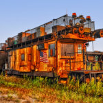 Retired Work Train _ Silvis Illinois